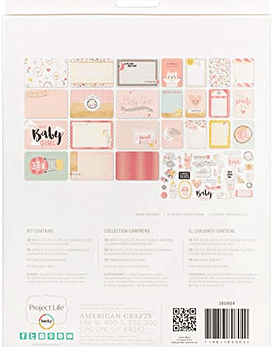 Project Life Lullaby Girl Value Kit