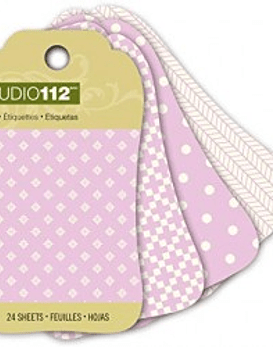 Studio 112 Purple Mini Tag Pad