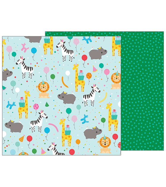 Pebbles Cardstock Party Animal