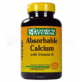 Absorbable Calcium with Vitamin D GoodN Natural