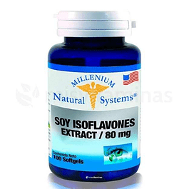 Soy Isoflavones Extract 80 mg Natural System