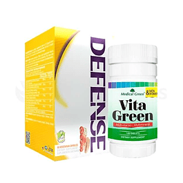 Combo para subir las defensas Defense Vita Green