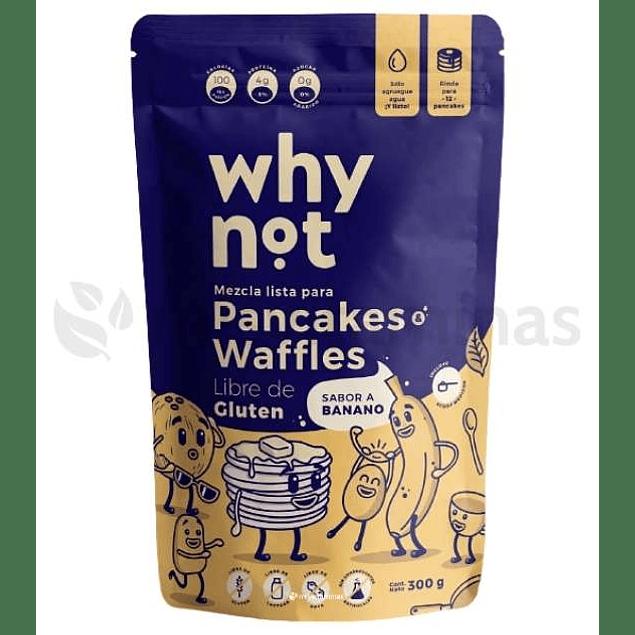 Pancakes & Waffles Why Not Banano