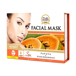 Mascarilla Facial Papaya Caja x 10 Nevada