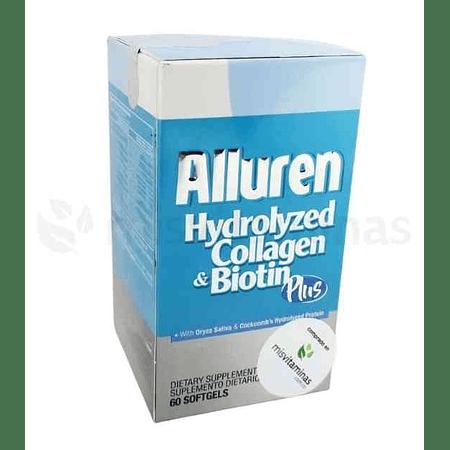 Alluren Colageno Hidrolizado con Biotina Plus