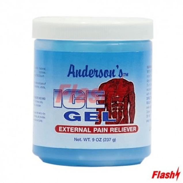 Gel Anderson Azul pequeño 9 Onz 237 gr
