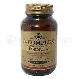 B Complex with Vitamin C Solgar