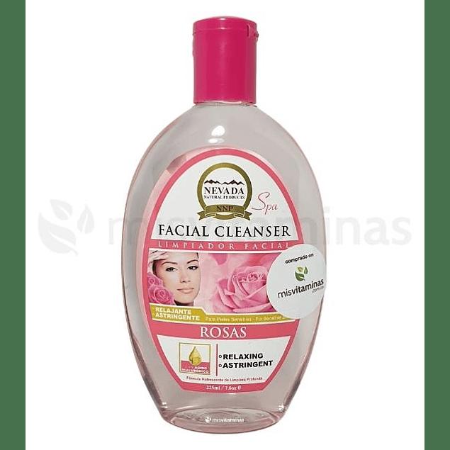 Limpiador Facial Rosas Nevada