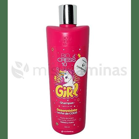 Shampoo BioCress 10 Niña Sin Sal