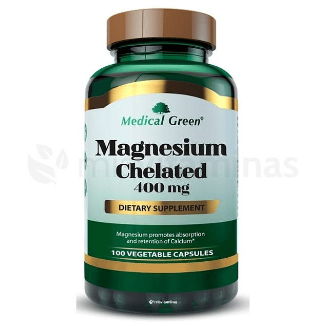 Magnesium Chelated 400 mg Medical Green
