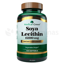 Soya Lecithin 1200 mg Medical Green