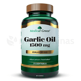 Garlic Oil 1500mg Medical Green