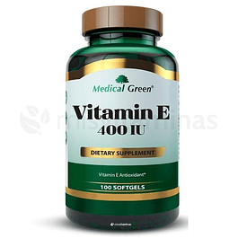 Vitamin E 400 IU Medical Green