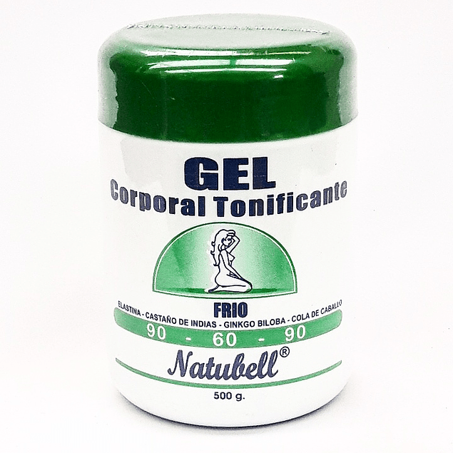 Gel Frio Corporal Tonificante 500g Natubell