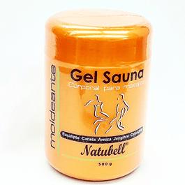 Gel Sauna Moldeante  500 g Natubell