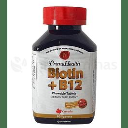 Biotin + B12 Prime Health