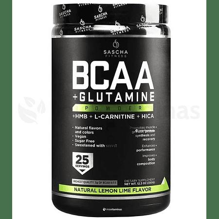 BCAA + Glutamine Sascha Fitness