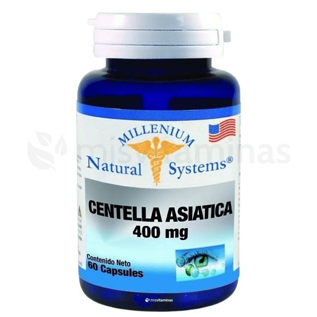 Centella Asiática 400 mg Natural Systems