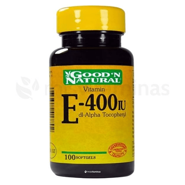 Vitamin E 400 IU Good'N Natural