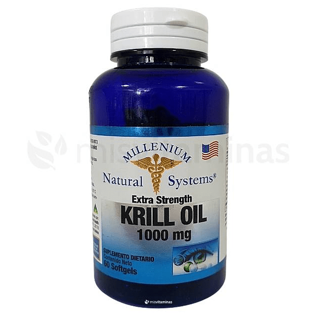 Krill Oil 1000 mg Natural Systems