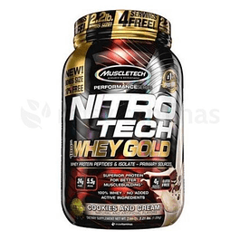 Nitro Tech Whey Gold 2.2 libras Muscletech