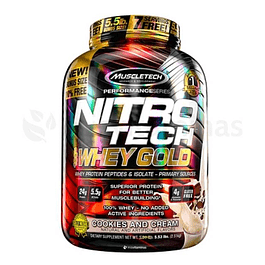 Nitro Tech Whey Gold 5 libras Muscletech