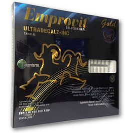 Emprovit  20 frascosx 20 ml y  20 tabletas Improfarme