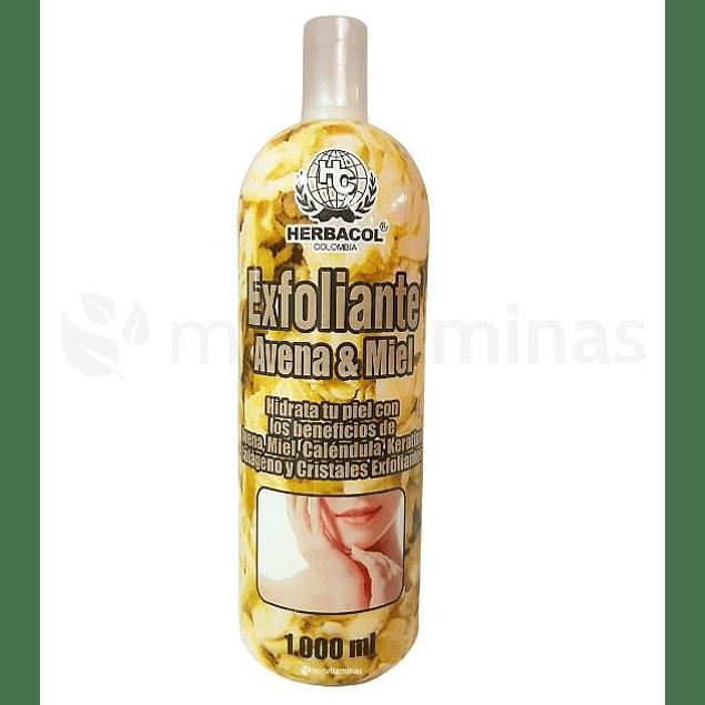 Exfoliante Avena & Miel Herbacol