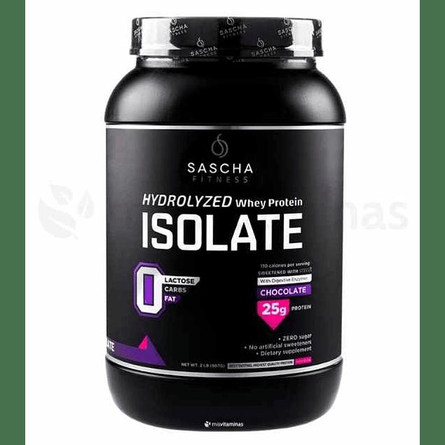 Sascha Whey Protein Isolate Chocolate 2.17 libras