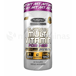 Multi Vitamin For Her Platinum Muscletech