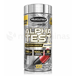 Alpha Test Testosterone Booster Muscletech