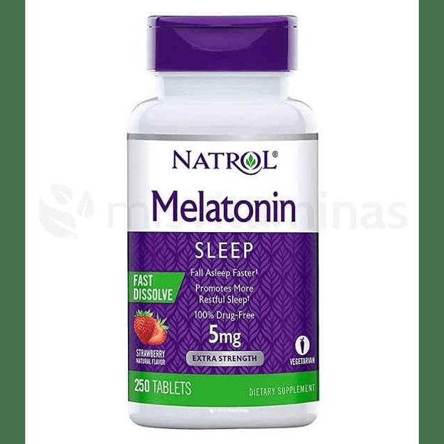 Melatonina Natrol 5 mg rapida absorción