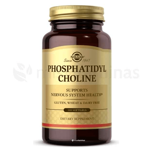Phosphatidyl Choline Solgar Colina