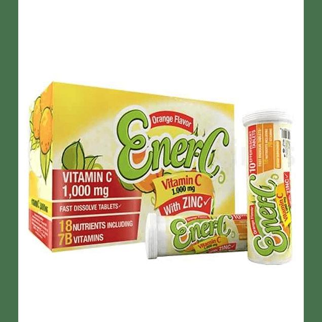EnerC Vitamina C 1000 mg Healthy America