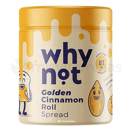 Why Not Golden Cinnamon Roll Spread