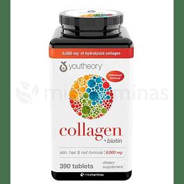 Collagen  Biotin Youtheory Skin Hair and Nails Formula