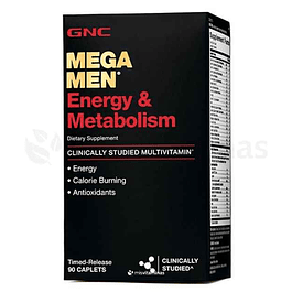 Mega Men Energy & Metabolism GNC