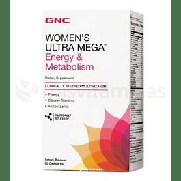 Women´s Ultra Mega Energy & Metabolism GNC
