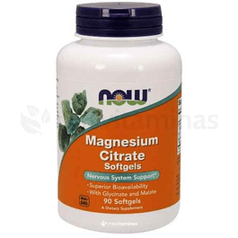 Magnesium Citrate 400 mg Now