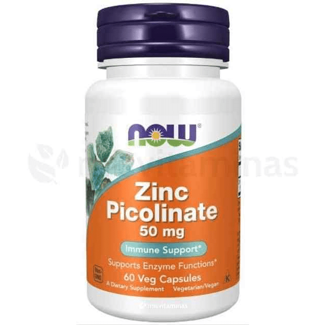 Zinc Picolinate 50 mg Now Foods