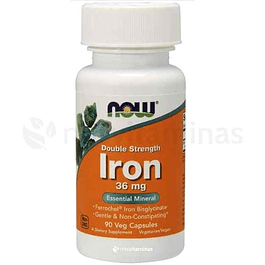 Iron 36 mg Now Foods