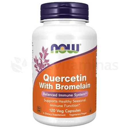 Quercetin with Bromelain 800 mg Now
