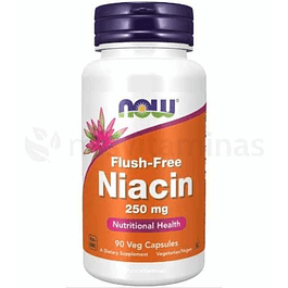 Niacin Flush Free 250 mg Now
