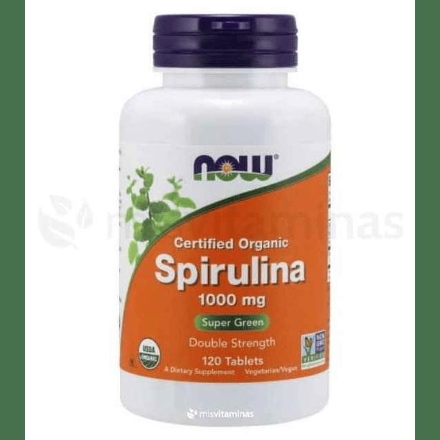 Spirulina 1000 mg Now Foods
