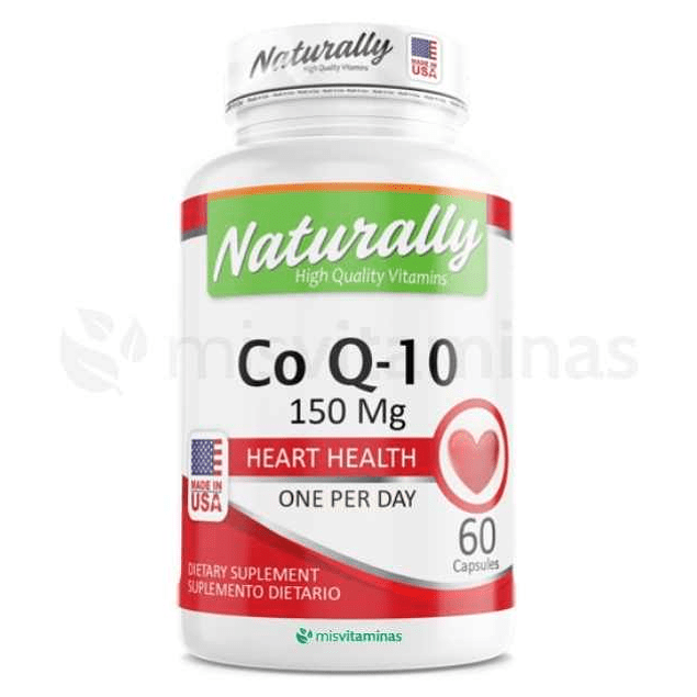 Coenzyma Q10 150 mg Naturally