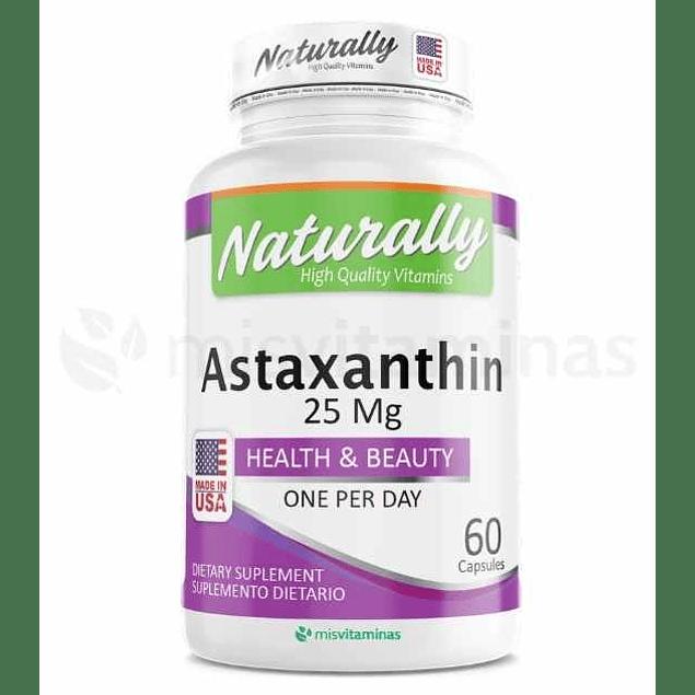 Axtaxanthin 25 mg Naturally