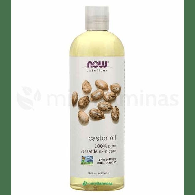 Castor Oil aceite de Ricino Puro Now