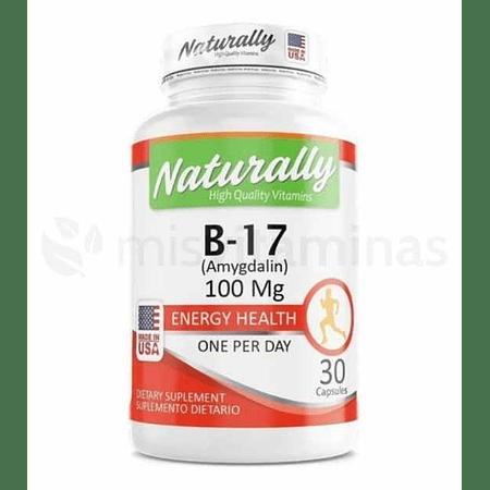 B17 Amygdalin 100 mg Naturally
