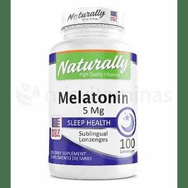 Melatonina Sublingual 5 mg Naturally