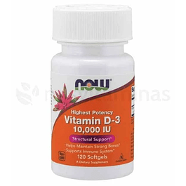 Vitamin D3 10000 IU NOW